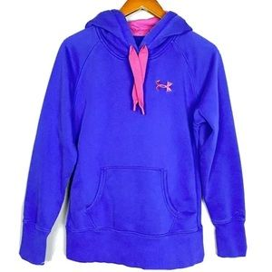 Under Armour Womens Pullover Hoodie Sz S